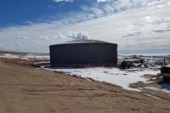 1M gallon pre-stressed tank 2017