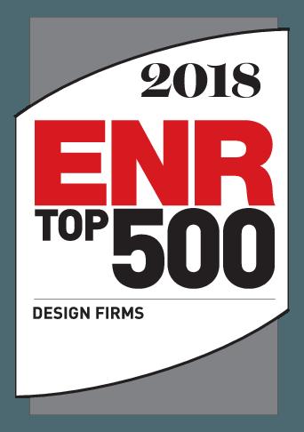 Image of 2018 ENR Top 500 Design Firms Logo